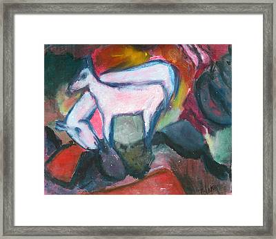 By The Stream Framed Print by  Tolere