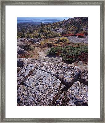 Cadillac Mountain Framed Print