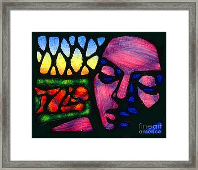 Cain And Abel Framed Print by David Azzarello