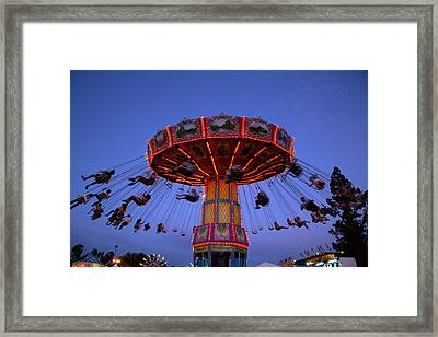 California State Fair In Sacramento Framed Print