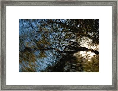 Camera Toss Framed Print