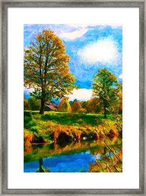 Canal 2 Framed Print