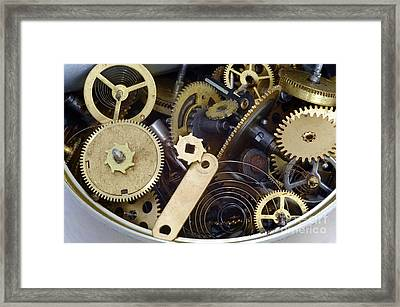 Canned Time Framed Print by Michal Boubin