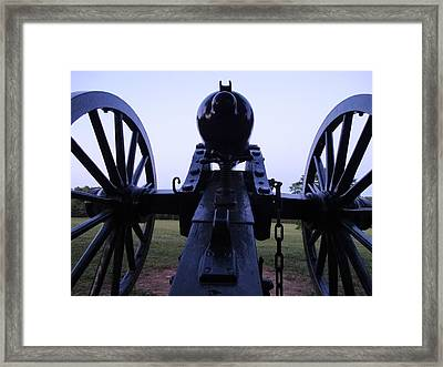 Cannon Framed Print by William Watts