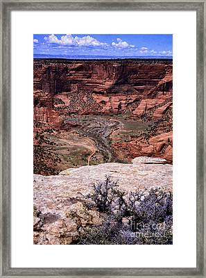 Canyon De Chelly Framed Print by Thomas R Fletcher