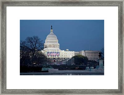 Capitol Building Framed Print by Jim West