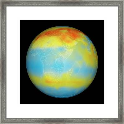 Carbon Dioxide Levels Framed Print