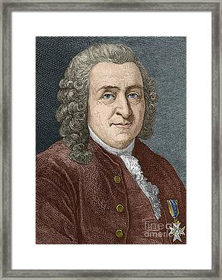 Carl Linnaeus, Swedish Botanist Framed Print