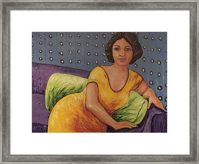 Carla Framed Print by Clarence Major