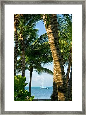 Carlisle Bay Beach, Antigua, West Framed Print