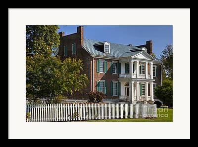Carnton Plantation Framed Prints