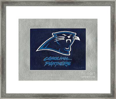 Panthers  Framed Print by Herb Strobino