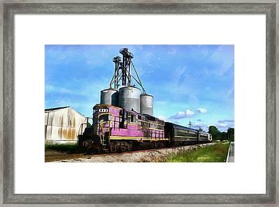 Carolina Southern Railroad Framed Print by Joseph C Hinson Photography