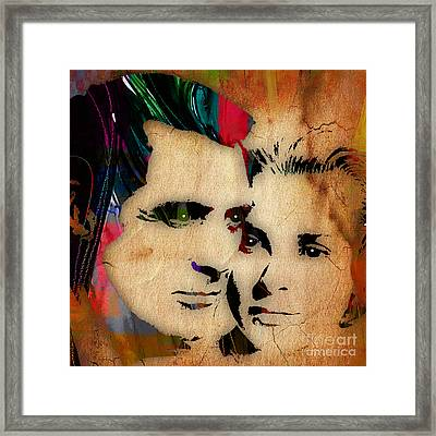 Cary Grant And Grace Kelly Collection Framed Print