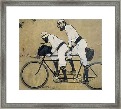 Casas I Carbo, Ram�n 1866-1932. Ramon Framed Print by Everett