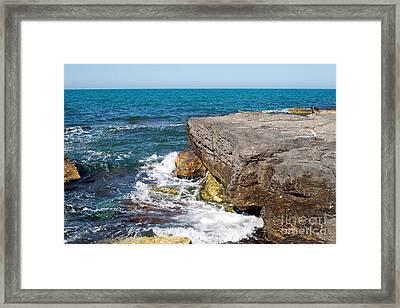 Caspian Sea. Framed Print by Alexandr  Malyshev