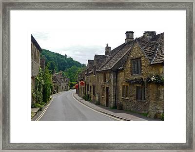 Castle Combe Framed Print