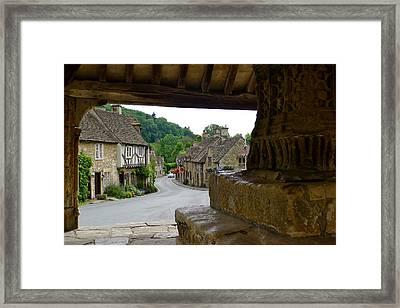 Castle Combe Picture Framed Framed Print