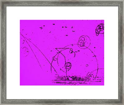 Catalyzed Nuclear Reaction In Bubble Framed Print