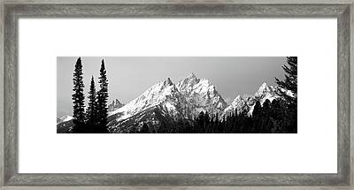 Cathedral Group Grand Teton National Framed Print