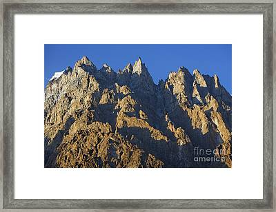 Cathedral Spires Mountain Peaks Framed Print by Robert Preston