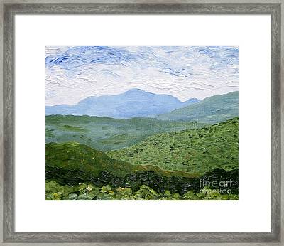 Catskill Mountains Framed Print by Kevin Croitz