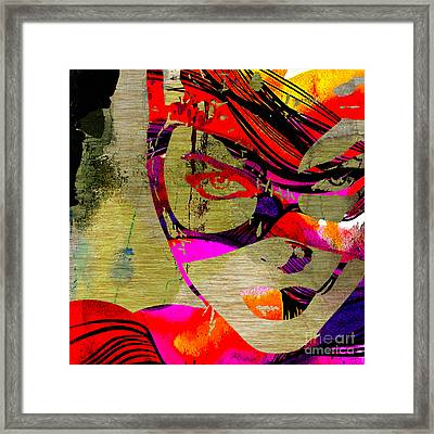 Catwoman Framed Print by Marvin Blaine