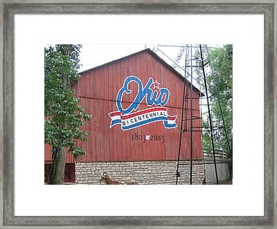 Cedar Point - 12122 Framed Print by DC Photographer