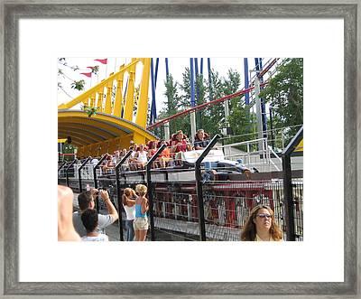 Cedar Point - Top Thrill Dragster - 12121 Framed Print