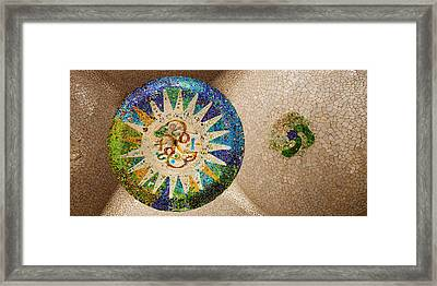 Ceiling Detail Of The Hall Of Columns Framed Print by Panoramic Images