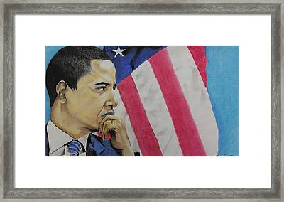 Change To Believe In Framed Print