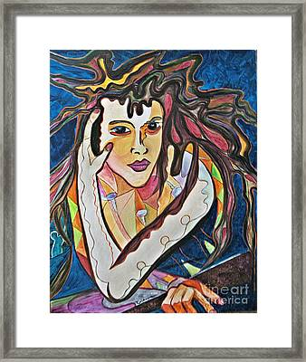 Framed Print featuring the painting Changes by Diana Bursztein