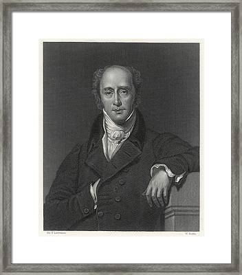 Charles Grey 2nd Earl  English Framed Print by Mary Evans Picture Library