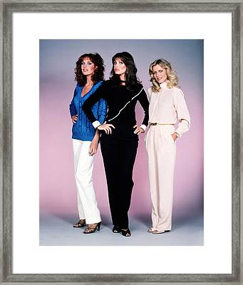 Charlie's Angels  Framed Print by Silver Screen