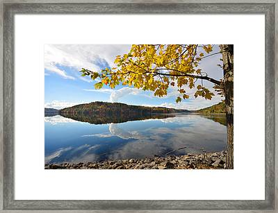 Cheat Lake - West Virginia Framed Print by Dung Ma