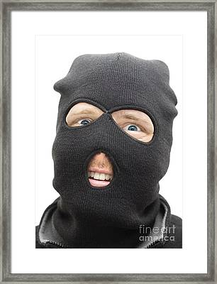 Cheeky Criminal Framed Print by Jorgo Photography - Wall Art Gallery