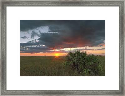 Chekili Sunset Framed Print