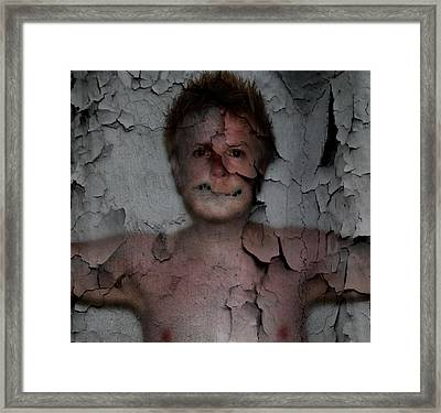 chestPain Framed Print by David Fox