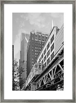 Chicago Loop 'l' Framed Print
