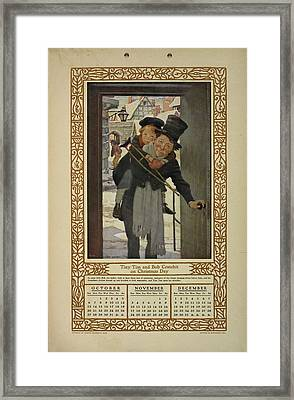 Children Of Dickens. Framed Print by British Library