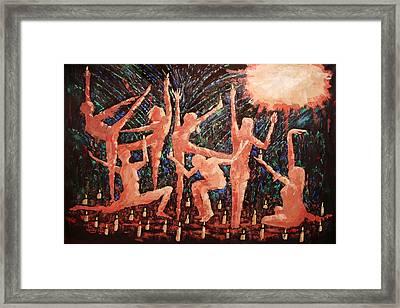 Children Of The Light Framed Print by Anthony Falbo