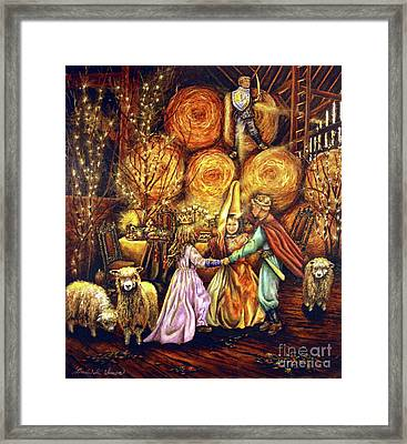 Children's Enchantment Framed Print by Linda Simon