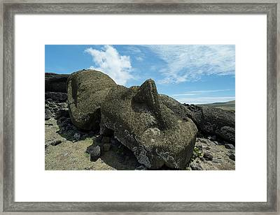 Chile, Easter Island Aka Rapa Nui Framed Print by Cindy Miller Hopkins