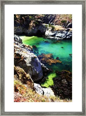 China Cove -5 Framed Print by Alan Hausenflock