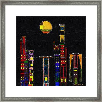 Chinatown Framed Print by RC deWinter