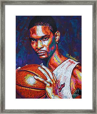 Chris Bosh Framed Print