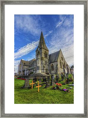 Christ Church Framed Print by Ian Mitchell