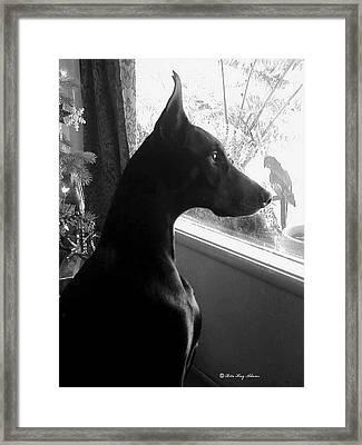 Christmas Morning Framed Print by Rita Kay Adams