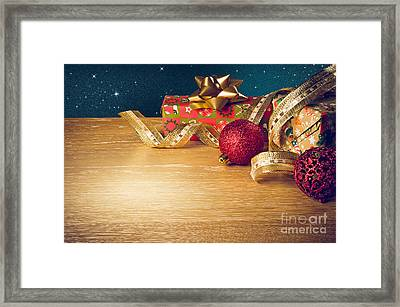 Christmas Still-life Framed Print by Carlos Caetano