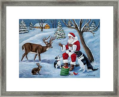 Christmas Treats Framed Print
